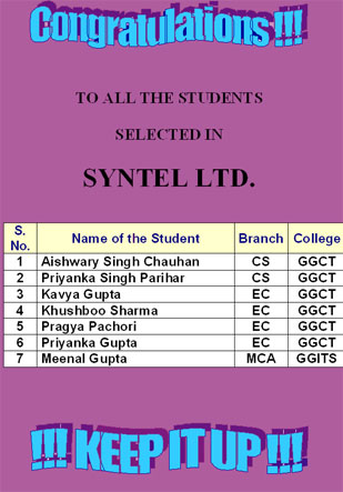 Syntel Selections